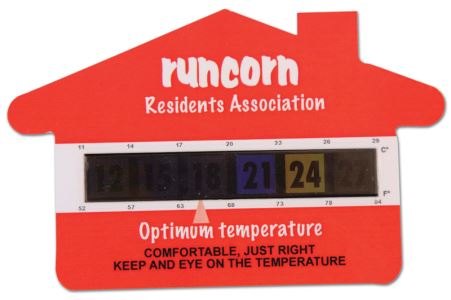 House Thermometer Cards