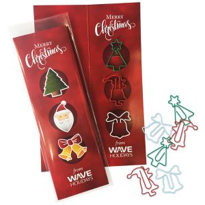 Christmas Shaped Paper Clips